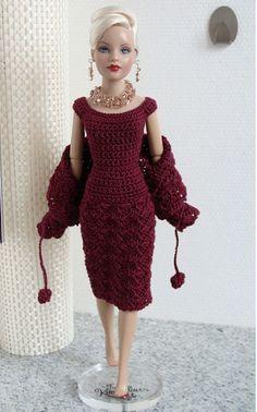 vestidos de bonecas FASHION passo a passo - Pesquisa Google