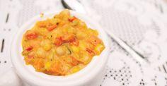 Sweet Pepper–Coconut Corn Chowder - Nutrition Studies Recipes