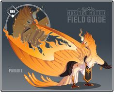 006 - Phoenix by Mythka on DeviantArt Mythical Creatures Art, Mythological Creatures, Magical Creatures, Fantasy Monster, Monster Art, Creature Concept Art, Creature Design, Fantasy Dragon, Fantasy Art