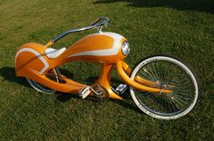 A bike to ride into battle