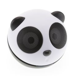 Kitsound Buddy Portable Speaker Compatible with iPhone, iPod, iPad Mini and MP3 Player - Panda by Kitsound, http://www.amazon.co.uk/dp/B005DY0ZR6/ref=cm_sw_r_pi_dp_GZamrb03YBFZV