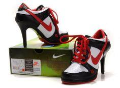 nike cortez heels