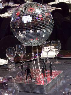 Disco Fever centerpiece