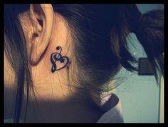 music tattoo. by RaphaelWhite, via Flickr