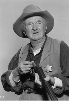 "Walter Brennan as Stumpy! from ""Rio Bravo"" - Howard Hawkes (1959)"