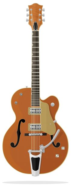 Gretsch Brian Setzer Nashville Brian Setzer Signature  Gretsch® Brian Setzer Nashville® models are built to Brian's exacting specs and modeled on the guitars in his killer vintage collection. The trestle bracing matches that of Setzer's favorite '59, giving it a more solid feel and tons of sustain.  Illustration by David Navarro