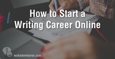 Tips to getting started as a freelance writing.