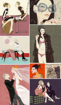 inspiring illustrations (Paula Sanz Caballero)