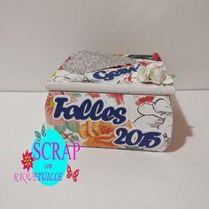 Scrap con Raquetuille: Caja para las cenizas de la falla Facial Tissue, Scrap, Fails, Hacks, Crates, Gifts, Cards, Tat