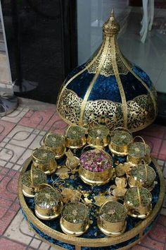 .. Moroccan Party, Moroccan Theme, Moroccan Wedding, Indian Wedding Gifts, Indian Wedding Decorations, Wedding Gift Wrapping, Wedding Favors, Morrocan Henna, Arabian Decor