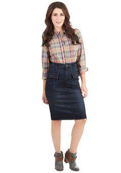 Quite Quintessential Skirt   Mod Retro Vintage Skirts   ModCloth.com