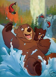 Kenai and koda- brother bear