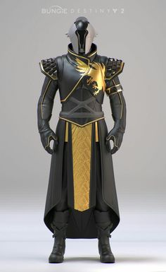 #wattpad #fanfiction Main Story of The Warrior Scholar Male Exo Warlock Volume. 1 - Completed A Warlock under the name YN-3 is sent to an unknown cave that mysteriously opened up, with an anonymous tip that there may be Golden Age artifacts inside. But he finds a portal instead that he is forced through, sending him ve... Destiny Cosplay, Destiny Costume, Fantasy Character Design, Character Design Inspiration, Character Art, Futuristic Armour, Futuristic Art, Foto Fantasy, Dark Fantasy Art