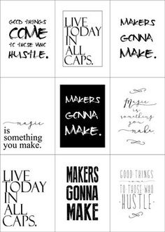 Free Vision Board Printables Visionboard Freedownload Staying