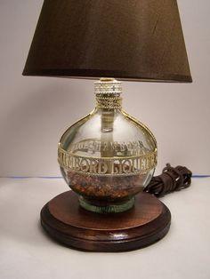 Chambord Liquor Lamp by DsGlassDesigns on Etsy, $96.75