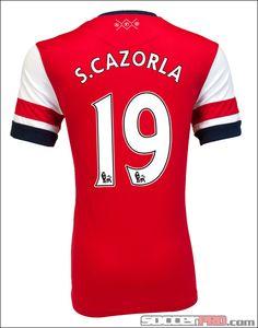 Nike Arsenal Cazorla Home Jersey 2012-2013...$96.49