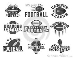 College rugby and american football team, college