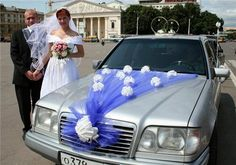 wedding car decoration #12
