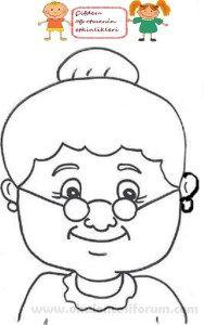 Dede ve nine maskelerimiz Art Drawings For Kids, Doodle Drawings, Art For Kids, Crafts For Kids, Paper Bag Crafts, Craft Stick Crafts, Preschool Crafts, Grandparents Day Crafts, Grandparent Gifts