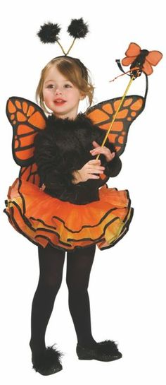 Girls Yellow Butterfly Fancy Dress Costume Insect Animal Childs Book Day Outfit
