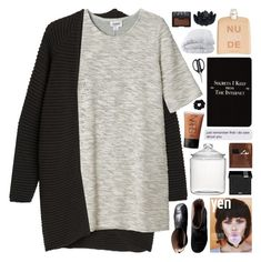 """""""your words cut me deeper than a knife"""" by anavukadinovic ❤ liked on Polyvore featuring Crate and Barrel, NARS Cosmetics, Monki, Maison Margiela, COSTUME NATIONAL, Sia, MAKE UP FOR EVER, Palila, Rich and Damned and American Apparel"""