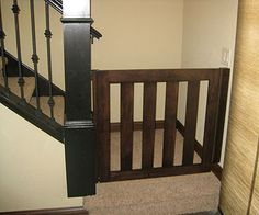 Gatekeepers custom wooden safety gates are not only strong and reliable; they are also beautiful, as seen in this gallery of product photos. Child Safety Gates, Child Gates, Baby Gates, Dog Gates, Gate Images, Kids Gate, Stair Gate, Carpenter Work, Pet Gate