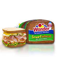 Wonder® Smartwheat® bread- The nutrition of 100% whole wheat with the delicious taste of Wonder!