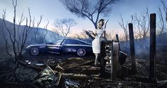 I think it is something nice for composition.      Probably one of my favorite David LaChapelle Photographs.