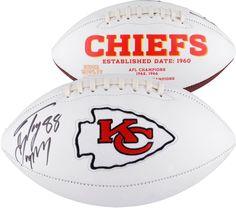 Tony Gonzalez Kansas City Chiefs Autographed White Panel Football Chiefs  Football cfc02b1d5