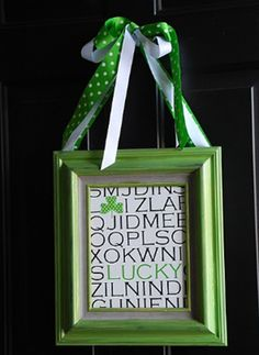 cute decorations for St. Patrick's Day