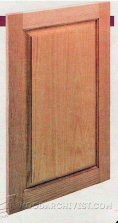 Raised Panel Door Tools And Techniques Raised Panel Doors Raised Panel And Panel Doors