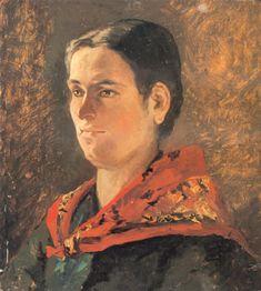 Fattori, Giovanni - 1880 Portrait of Contadina