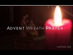 Advent Wreath Prayer HD video