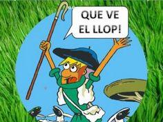 EL PASTOR MENTIDER (conte animat amb so)