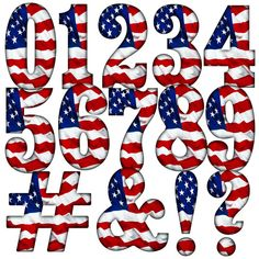 American Decor, American Flag, Fourth Of July Shirts, July 4th, Independence Day July 4, Alphabet Art, July Crafts, Letter Set, Cricut Creations
