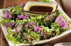 Our Nutrition Services team's latest recipe is for Lettuce Greens and Cilantro Lime Dressing!