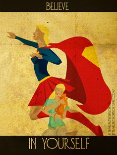 Inspirational Superhero Posters by Kerrith Johnson - Daily Inspiration