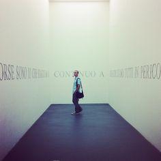 """""""Forse sono io che sbaglio. Ma io continuo a dire che siamo tutti in pericolo."""" Marzia Migliora, #Pasolini, Museo di Arte Moderna di Rivoli"""
