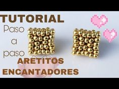Simple Techniques of Making DIY Stud Earrings Beading Patterns Free, Beaded Jewelry Patterns, Beading Tutorials, Seed Bead Jewelry, Seed Bead Earrings, Beaded Earrings, Design Youtube, Wedding Cards Handmade, Earring Tutorial
