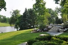Garden landscaping.