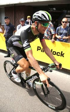 Edvald Boasson Hagen of Norway and Team Dimension Data at the start of stage 7 of the Tour de France 2017 a stage between Troyes and...