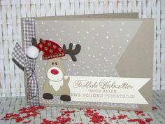 rentier marianne design reindeer stampin up