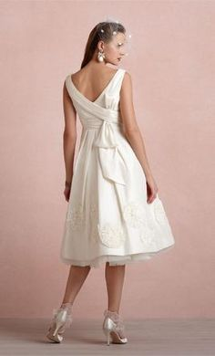 BHLDN PINWHEEL TEA DRESS 2: buy this dress for a fraction of the salon price on PreOwnedWeddingDresses.com