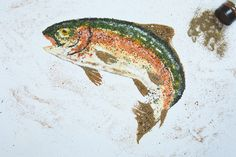 Trout seasoning. No license required. #trout #troutfishing #seasoning #recipe