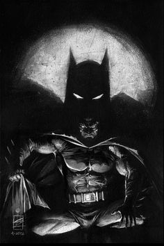 Shadow of Batman by Eddy Newell