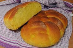 Chałka z dynią International Recipes, Bread, Cooking, Foods, Brioche, Kitchen, Food Food, Food Items, Brot