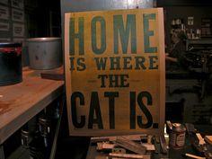 home #letterpress