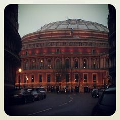 Italianate: Royal Albert Hall, London.