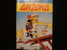 Vintage French Comic Book LUCKY LUKE ARIZONA by catherinefarrens, $8.99