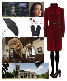 """Attending the New Year's Day Service at St Mary Magdalene Church, Sandringham"" by new-generation-1999 ❤ liked on Polyvore featuring Coast, Dune and Kenzo"